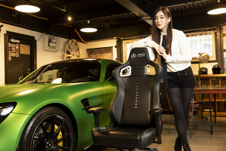 noblechairs | EPIC Mercedes-AMG Petronas Motorsport Edition