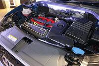 「RS Q3パフォーマンス」の2.5リッター直5ターボエンジン。