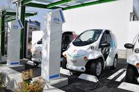 トヨタが都市交通システムの充電施設を設置の画像