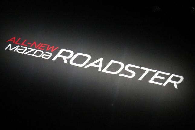 2015年5月20日、東京・日本橋において、新型「マツダ・ロードスター」の発表会が行われた。