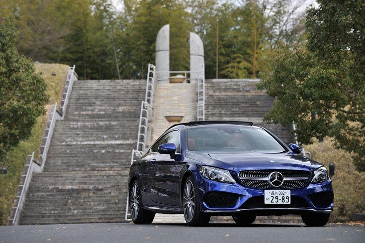 メルセデス・ベンツC180クーペ スポーツ+(FR/7AT)【試乗記】