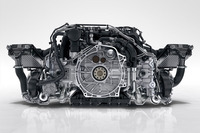 新しい3リッター水平対向6気筒ツインターボエンジンは、「911カレラS」で420psを生み出す。