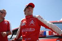 リタイアに終わったローブ。ドライバーズランキング首位の座もグロンホルムに譲ることとなった。
