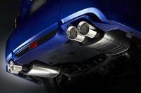 排気系にも、S206専用の低背圧スポーツマフラーが与えられる。