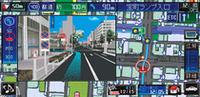 これは都市高速入り口案内表示。ETCレーンを案内するようになった。