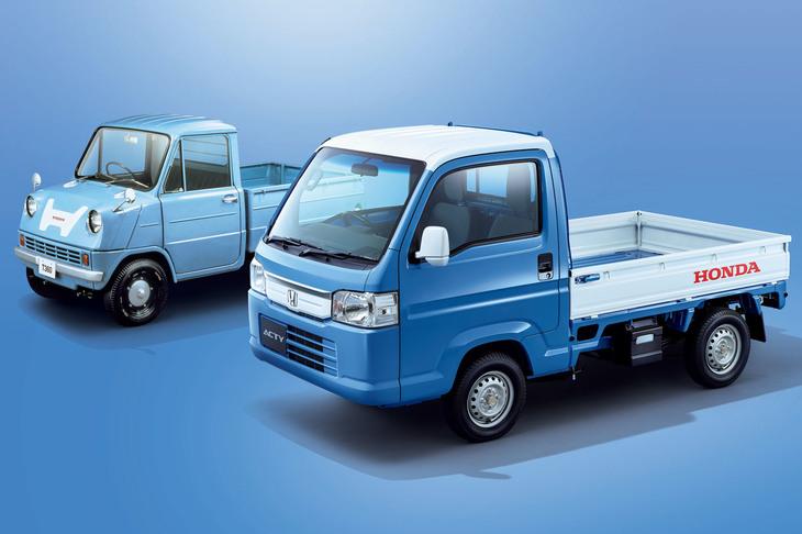 【自動車】「ホンダ・アクティ トラック」に2トーンの特別仕様車