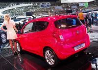 オペルの新エントリーモデルである「カール」。ドイツでの価格は9500ユーロ(約124万円)から設定されている。