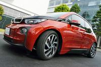 「ブリヂストン・エコピアEP500オロジック」を装着したBMWの電気自動車「i3」。