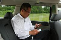 【Movie】これからは車内で無線LAN!? 米クライスラー「uconnect」を発表の画像