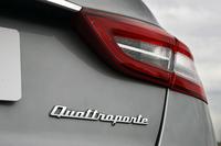 V6エンジン搭載車には、FRの「クアトロポルテS」と、4WDの「クアトロポルテS Q4」がある。試乗会は北イタリアのバロッコをベースに行われた。