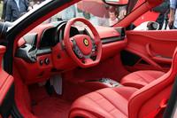フェラーリ、「458スパイダー」を日本初公開の画像