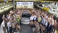 ブラジル工場で行われたパリオ生産200万台達成式典。