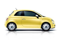 夏にぴったり、「フィアット500」に黄色い特別限定車の画像