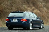 BMW 525ツーリング Mスポーツパッケージ(6AT)【ブリーフテスト】の画像