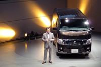 日産、新型「NV350キャラバン」発売