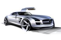 SLS AMGのイメージイラスト。