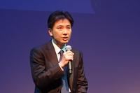 トヨタのデジタルマーケティング部部長を務める浦出高史氏。「TOYOTA NEXT」では、交通弱者や若者の役に立つ新たなサービスが生まれることを期待しているという。