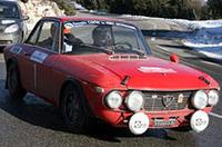 ランチア・フルビアHF。単一車種としては最多エントリー。