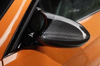 """ミラーカバーもカーボン仕様になるのが、""""スペシャル版M3""""の証し。"""