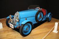 クラスBの「1936年フィアット・シアタ508スポルトMM」。フィアットの先行開発も請け負っていたシアタが、1リッター級のサルーンである508バリッラをベースに作った可愛らしい軽スポーツ。