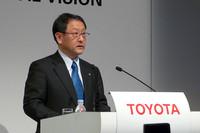 トヨタ自動車、豊田章男社長
