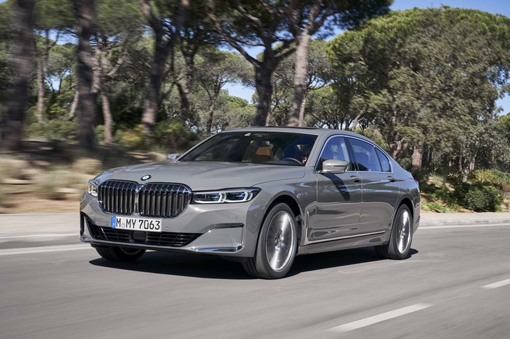 BMW 750Li xDrive(4WD/8AT)/745Le(FR/8AT)【海外試乗記】