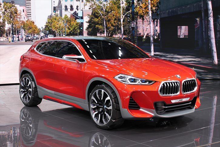 BMWコンセプトX2(エクステリア)
