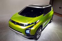 三菱がMPVとSUVのクロスオーバーを提案【東京モーターショー2013】の画像