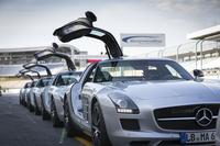 今回参加したコースは運転の基本を学ぶ「ベーシック」。2013年6月4日にドイツのホッケンハイムサーキットで開催された。