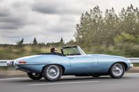 「ジャガーEタイプ」が電気自動車になって復活の画像