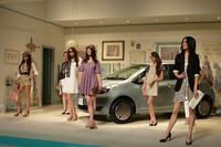 発表会場では、ファッションブランド「31 Sons de mode」(トランテアン ソン ドゥ モード)とのコラボレーションによる、ファッションショーも催された。