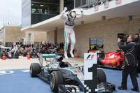 メルセデスのルイス・ハミルトンが波乱のアメリカGPを制し、2年連続、3度目のチャンピオンに輝いた。(Photo=Mercedes)