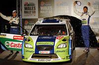 チャンピオンとなったセバスチャン・ロウブの最大のライバル、マーカス・グロンホルムがシーズン通算7勝目をあげ、1年を締めくくった。(写真=フォード)