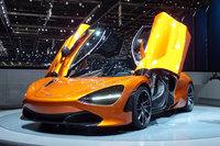 他のモーターショーと比べ、ジュネーブショーはスーパーカーや高級車の発表が多いことで知られている。写真は、やはり今年のジュネーブショーでお披露目された「マクラーレン720S」。