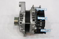 スズキが開発中のマイルドハイブリッドの核となる「ISG(インテグレーテッド スターター ジェネレーター)」。モーターによる動力アシストは限定的で、システムの機能や構造は「日産セレナ」の「Sハイブリッド」に近い。