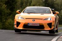 レクサス、「LFA Nurburgring Package」を展示【東京モーターショー2011】の画像