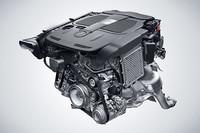 バンク角60度の新3.5リッターV6エンジン「M276」。