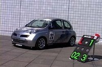 【Movie】新型マーチのレース仕様車