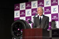 豊田通商の貸谷伊知郎常務は、グローバル試乗における今後のネクセンタイヤとの協力関係についても触れ、同社が力を注いでいるモビリティー事業のバリューチェーン拡大に期待を寄せた。
