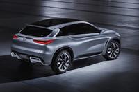 インフィニティの中型SUVコンセプトが登場【北京ショー2016】の画像