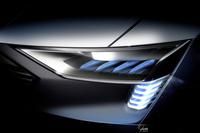 アウディが本格量産EVのコンセプトモデル出展【フランクフルトショー2015】の画像