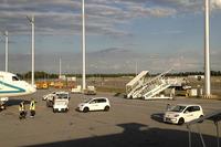 ドイツのミュンヘン空港では、「フォルクスワーゲンup!」が大量に導入されている。