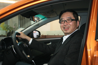 「水野和敏的視点」 vol.98 台湾取材/ハイテックの李社長、石副社長にインタビューの画像