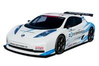 日産がEV「リーフ」のレーシングカーを出展【ニューヨークショー2011】
