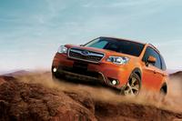 特別仕様車の「X-BREAK」。ボディーカラーは新色の「タンジェリンオレンジ・パール」。