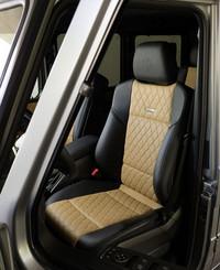 「メルセデス・ベンツG65 AMG」のシート。