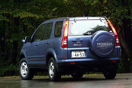 ホンダCR-V 「パフォーマiG」(4AT)/「フルマークiG 2WD」 (4AT)【試乗記】