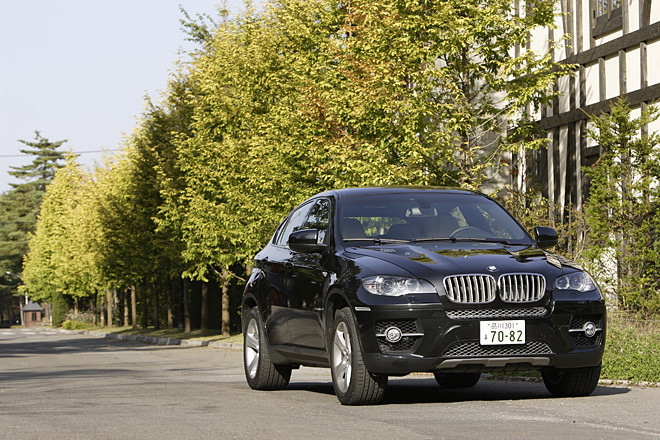 BMW X6 xDrive50i(4WD/6AT)【試乗記】