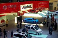【ジュネーブショー2003】トヨタ&レクサスと日産ブース