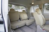 全席、撥水&防汚のシート地を採用。快適空間を謳う「cocochi(ここち)インテリア」だ。
